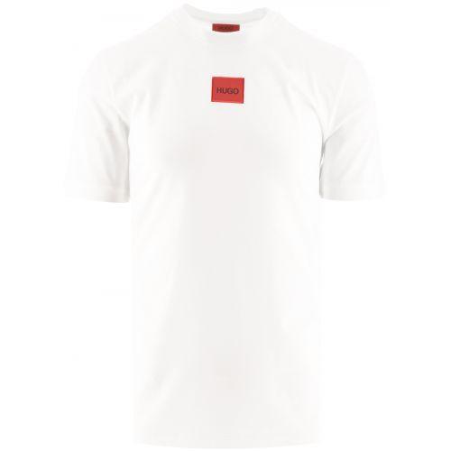 HUGO White Diragolino 212 T-Shirt