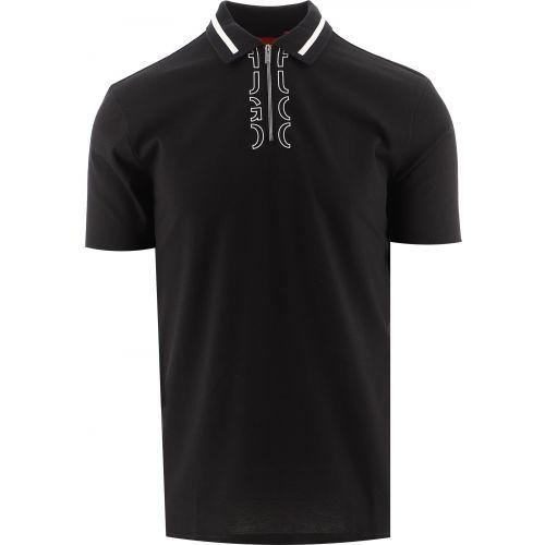 HUGO Black Dolmar213 Polo Shirt