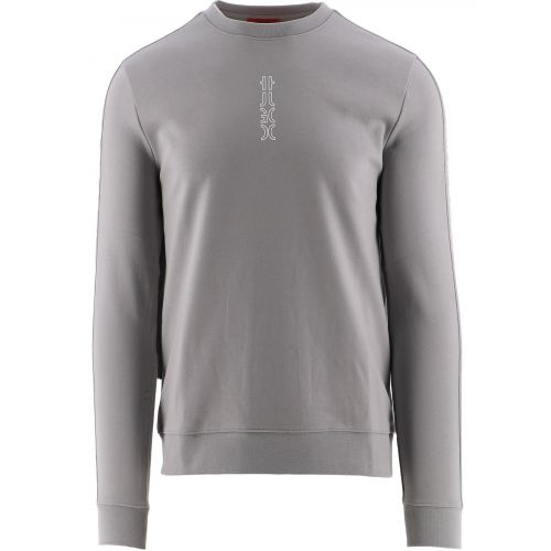 HUGO Grey Doby213 Sweatshirt