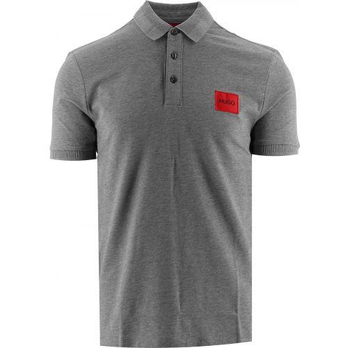 HUGO Grey Dereso212 Polo Shirt