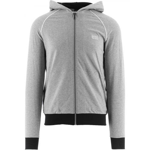 BOSS Grey Mix and Match Hooded Jacket