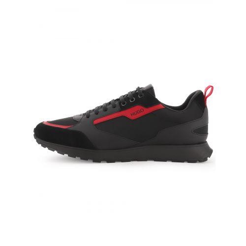 HUGO Black Iceline Runner Sneaker