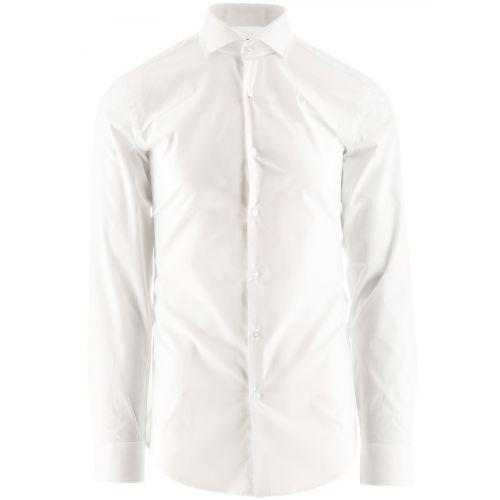 HUGO Open White Kason Shirt