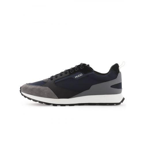 HUGO Blue Iceline Runner Sneaker