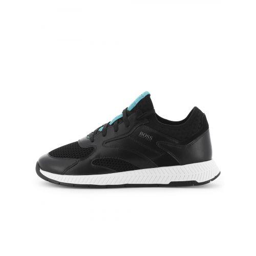 BOSS Black Titanium Runn Sneaker
